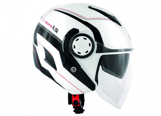 GIVI 12.3 Stratos Demi Jet Helmet Graphic (white)