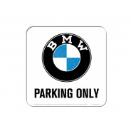 Nostalgic Arts Untersetzer BMW Parking Only (9x9cm)