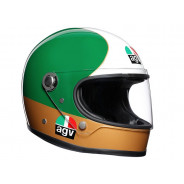 AGV X3000 Ago 1 Limited Edition Integralhelm (rot / grün / weiss / gold)