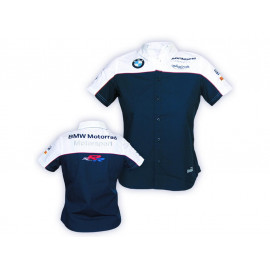 Alpha Racing World Superbike Hemd Damen (blau/weiß)