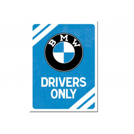 Nostalgic Arts BMW Drivers Only Magnet (6x8cm)