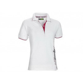 Kawasaki Speed Polo Shirt Damen (weiß)