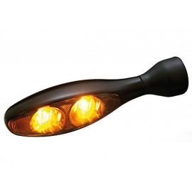 Kellermann Micro 1000 LED Motorrad Blinker Dark LED