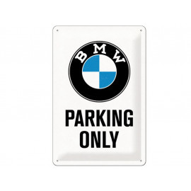Nostalgic Arts BMW Parking Only Blechschild (20x30cm)