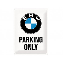 Nostalgic Arts BMW Parking Only Blechschild (30x40cm)