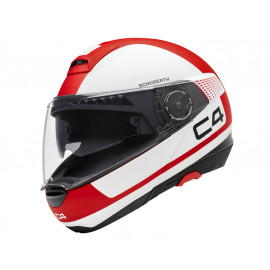 Schuberth C4 Legacy Red Klapphelm (weiß/rot)