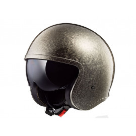 LS2 OF599 SPITFIRE Solid Jet Helm (chrom)