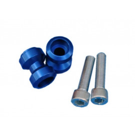 MP Bobbins Set Aluminium (blau) M10