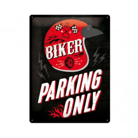 Nostalgic Arts Biker Parking Only Blechschild (30x40cm)
