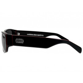 rude cmpny Nothing Else Matters Sonnenbrille (schwarz/rot line)