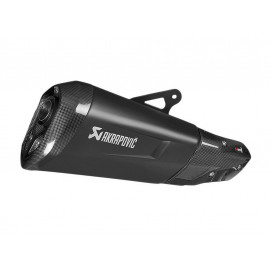 Akrapovic Slip-On Auspuff BMW S1000XR (2015-) Black Series / Titanium (Euro4)