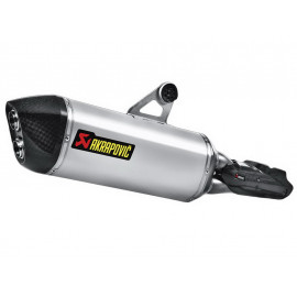 Akrapovic Slip-On Auspuff BMW R1200GS / R1200GS Adventure (2013) Titanium
