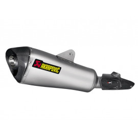 Akrapovic Slip-On Auspuff BMW R1200R (2015) Titanium