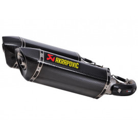 Akrapovic Slip-On Auspuff Ducati Monster 696 (2008-2010) Monster 1100 / Monster 1100S (2009-2010) Carbon