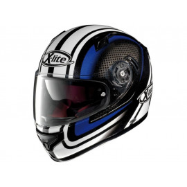 X-Lite X-661 Slipstream Integralhelm (weiß/blau)