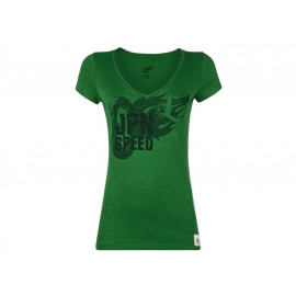 Kawasaki JPN Speed T-Shirt Damen (grün)