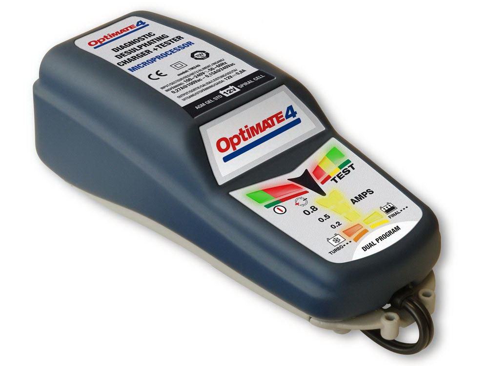 Tecmate: Batterieladegerät Optimate 4 Dual Can-Bus